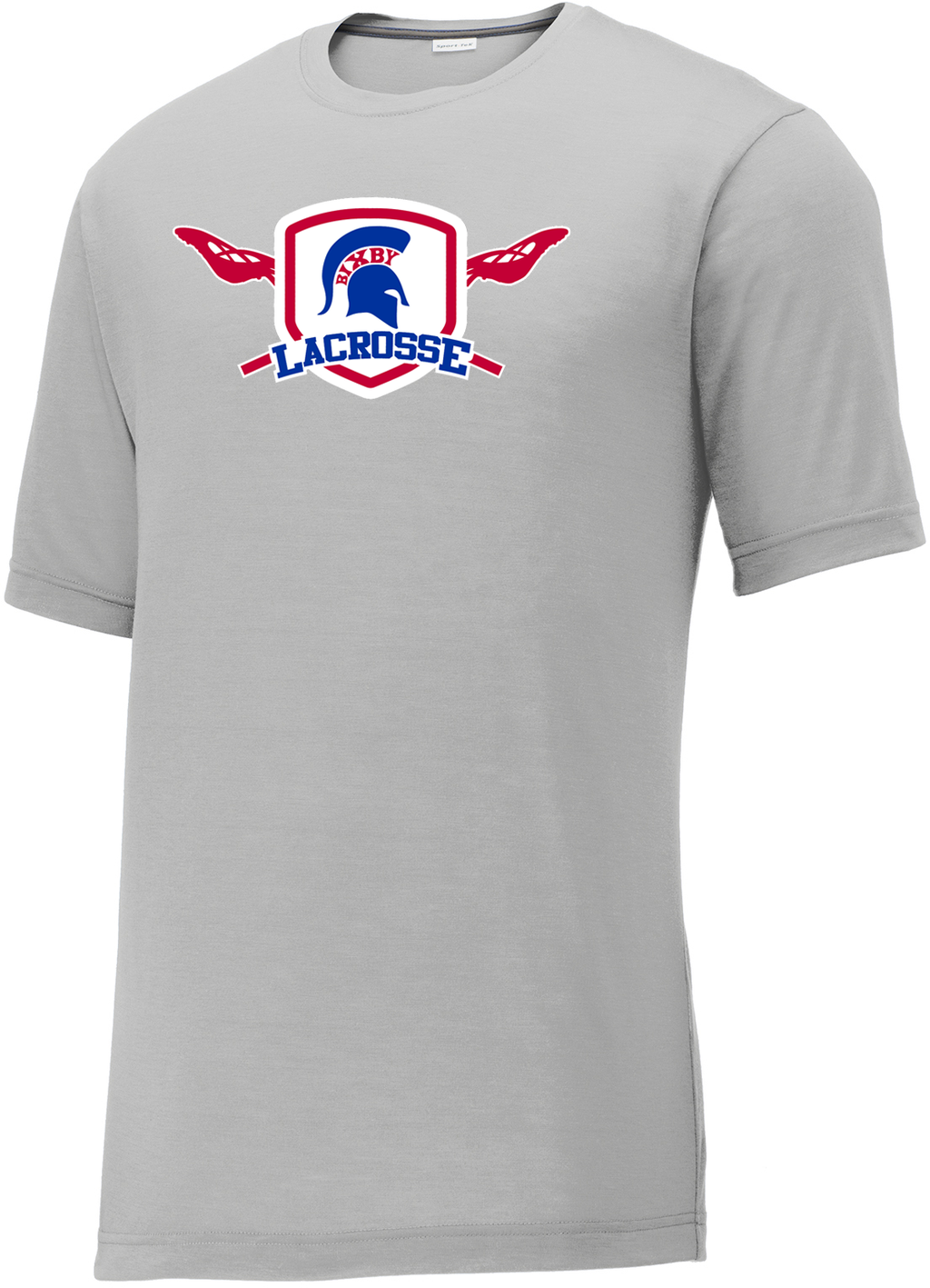 Bixby Lacrosse Silver CottonTouch Performance T-Shirt