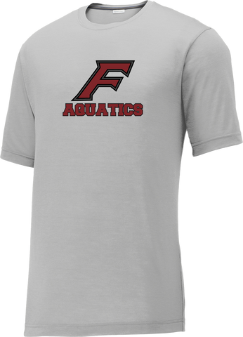 Farmington Aquatics Silver CottonTouch Performance T-Shirt