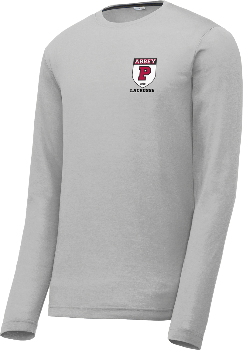 Portsmouth Lacrosse Silver Long Sleeve CottonTouch Performance Shirt
