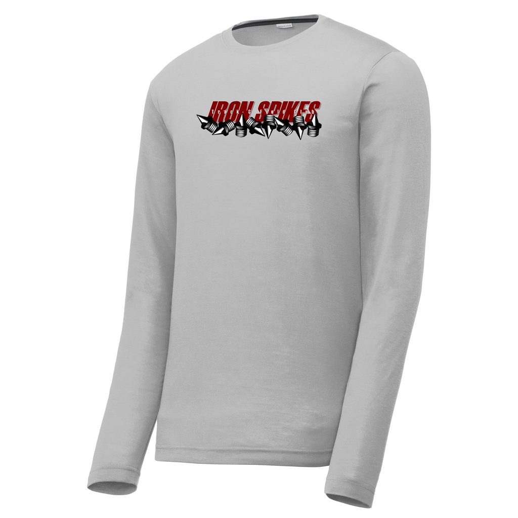 Iron Spikes Track & Field Long Sleeve CottonTouch Performance Shirt