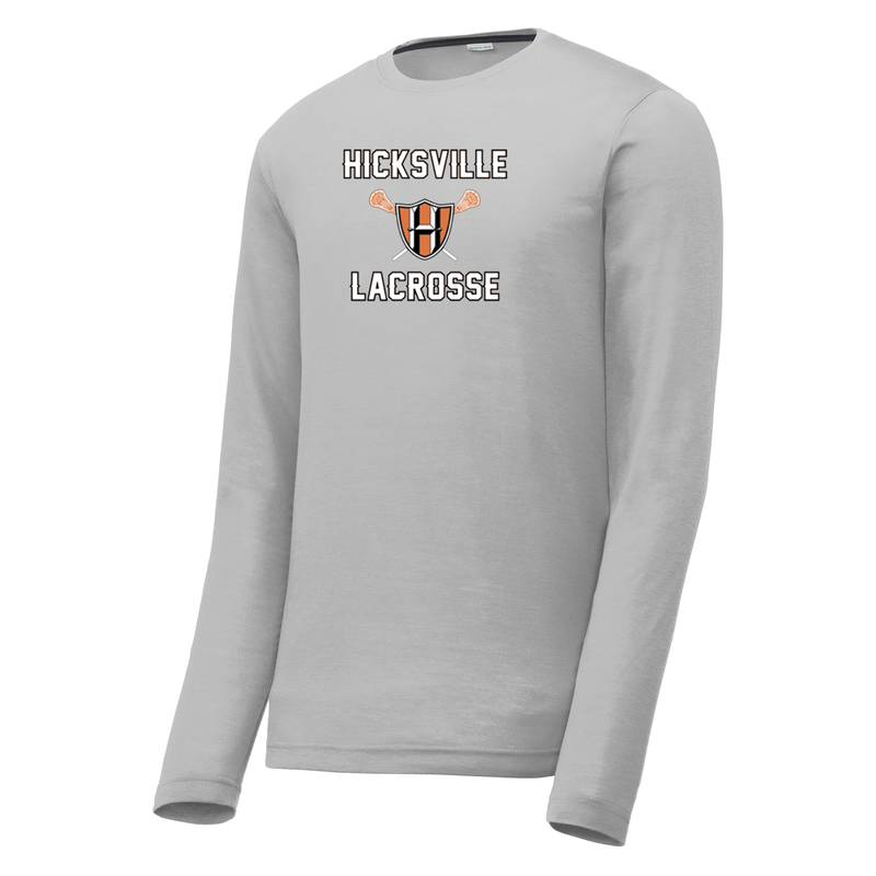 Hicksville Lacrosse  Long Sleeve CottonTouch Performance Shirt