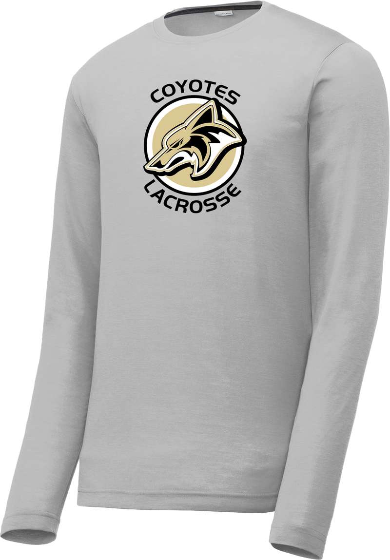Dane County Lacrosse Silver Long Sleeve CottonTouch Performance Shirt