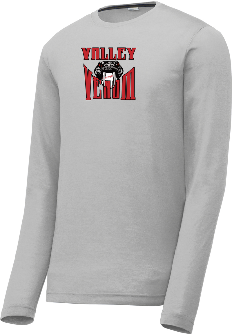 Valley Venom Baseball Long Sleeve CottonTouch Performance Shirt