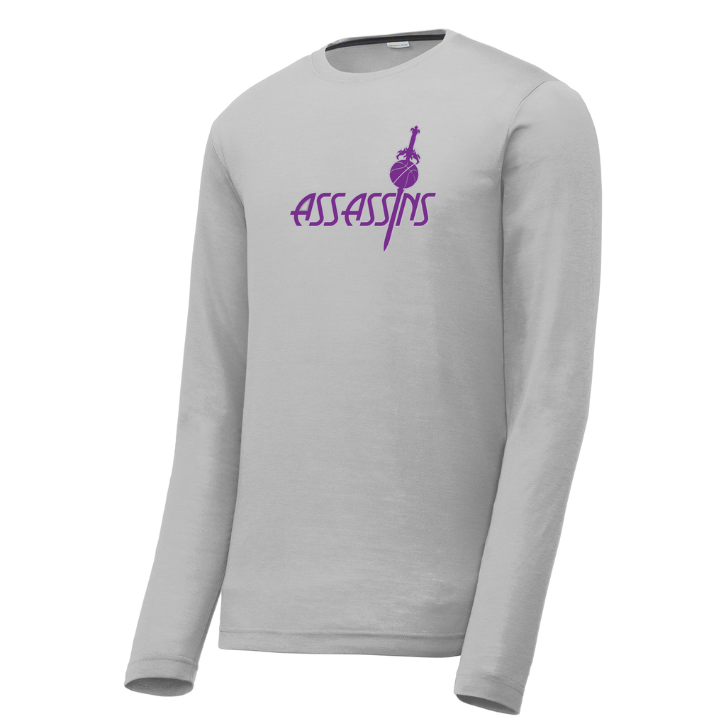 Assassins Basketball Long Sleeve CottonTouch Performance Shirt
