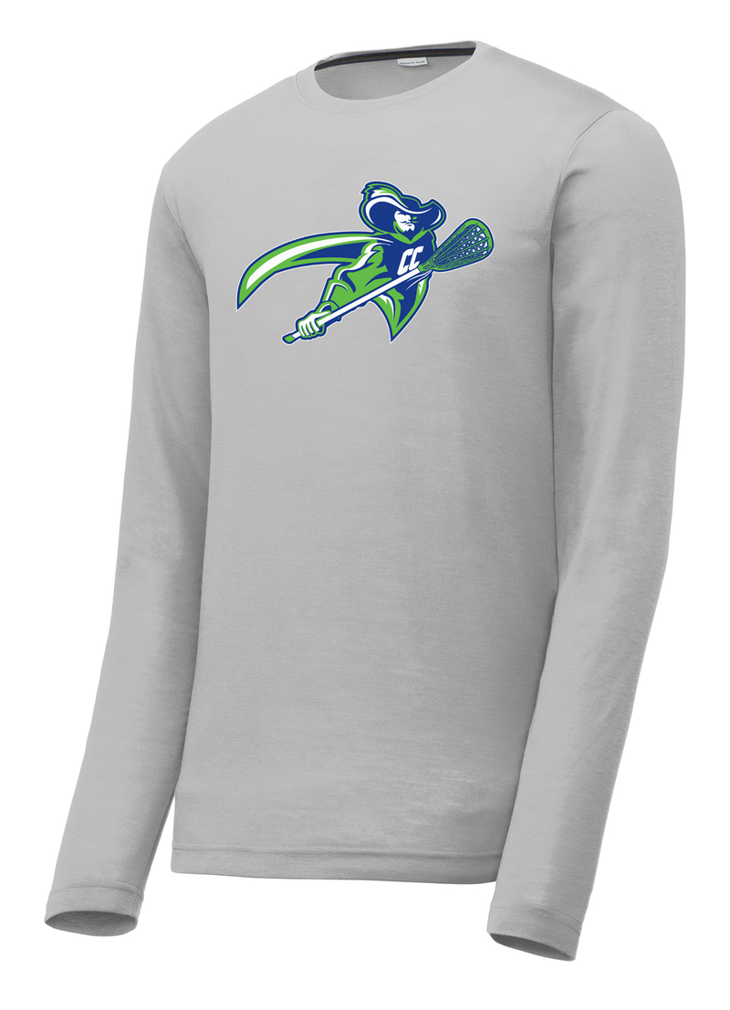 Cavaliers Lacrosse Long Sleeve CottonTouch Performance Shirt