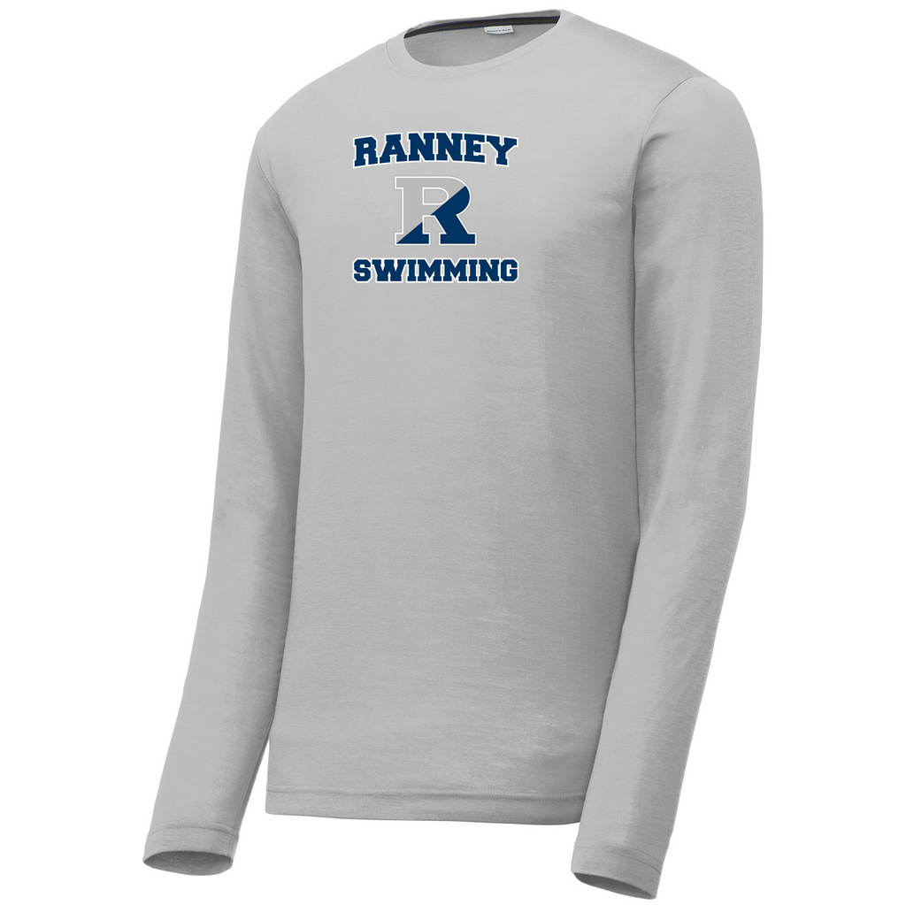 Ranney Swimming Long Sleeve CottonTouch Performance Shirt