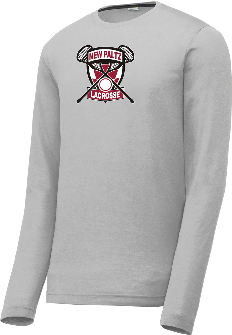 New Paltz Youth Lacrosse Long Sleeve CottonTouch Performance Shirt