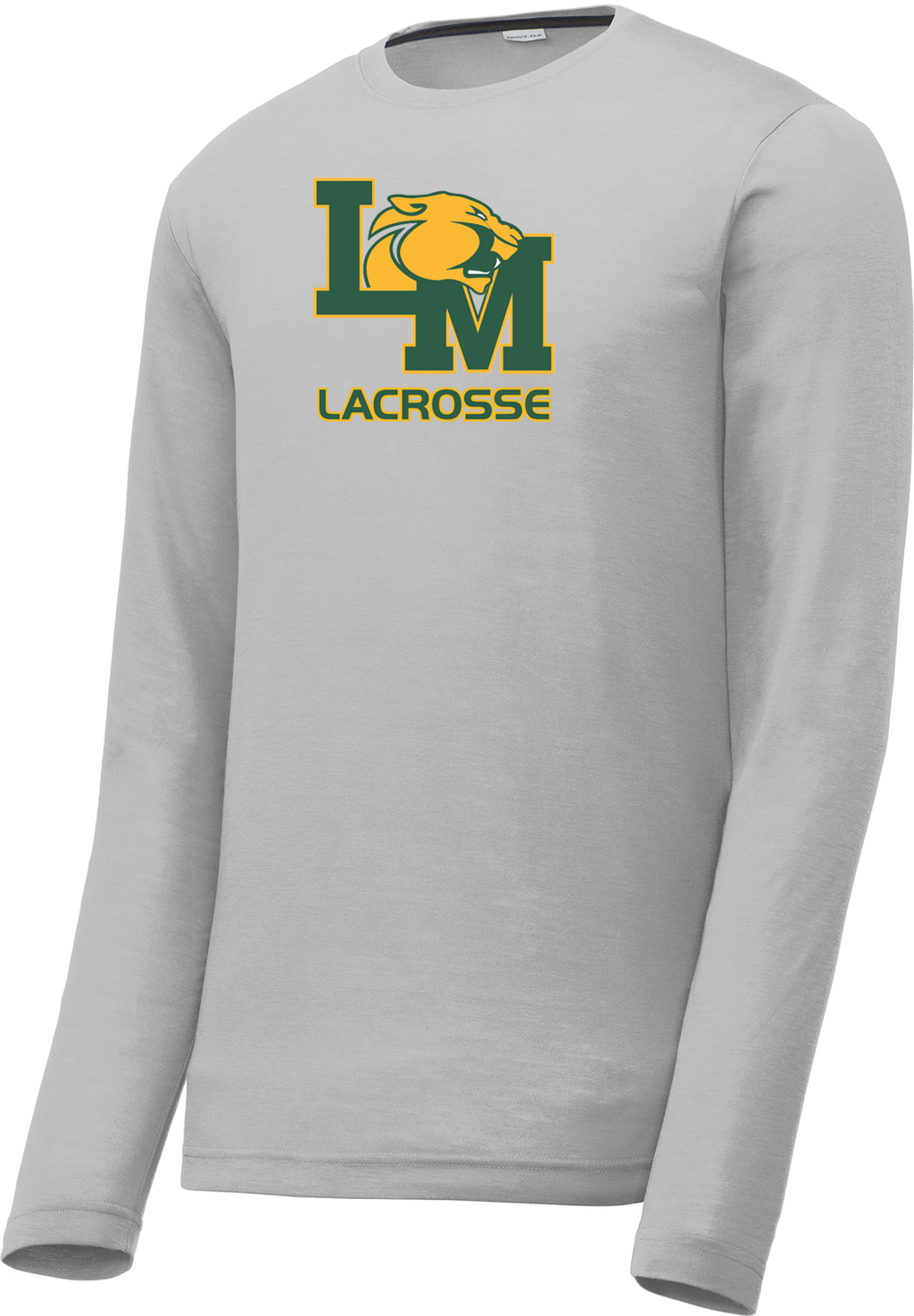 Little Miami Lacrosse Silver Long Sleeve CottonTouch Performance Shirt