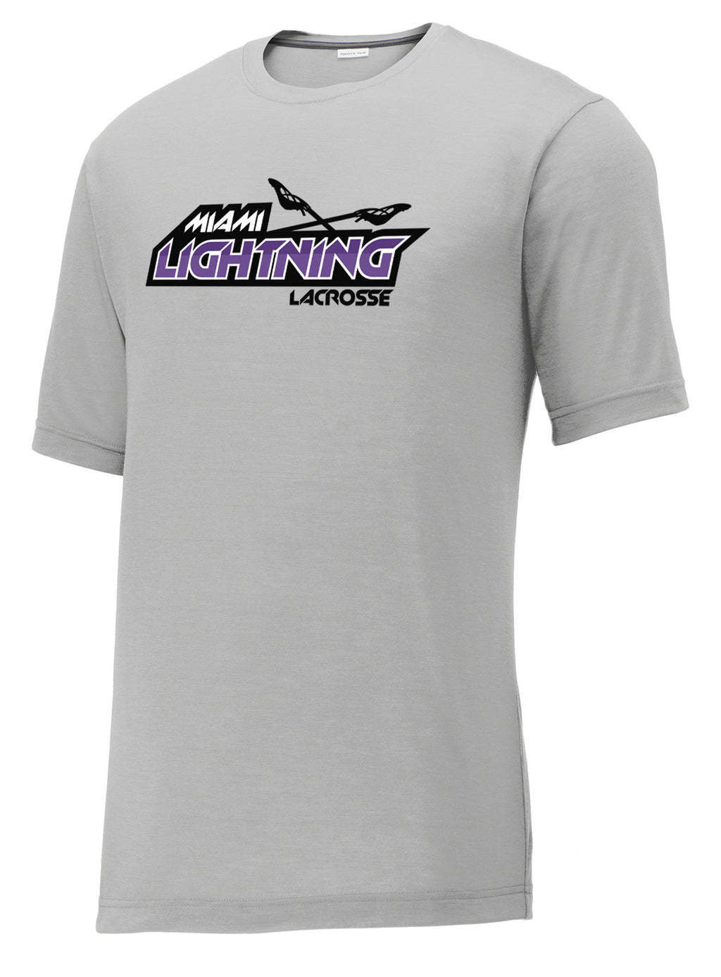 Miami Lightning Silver CottonTouch Performance T-Shirt
