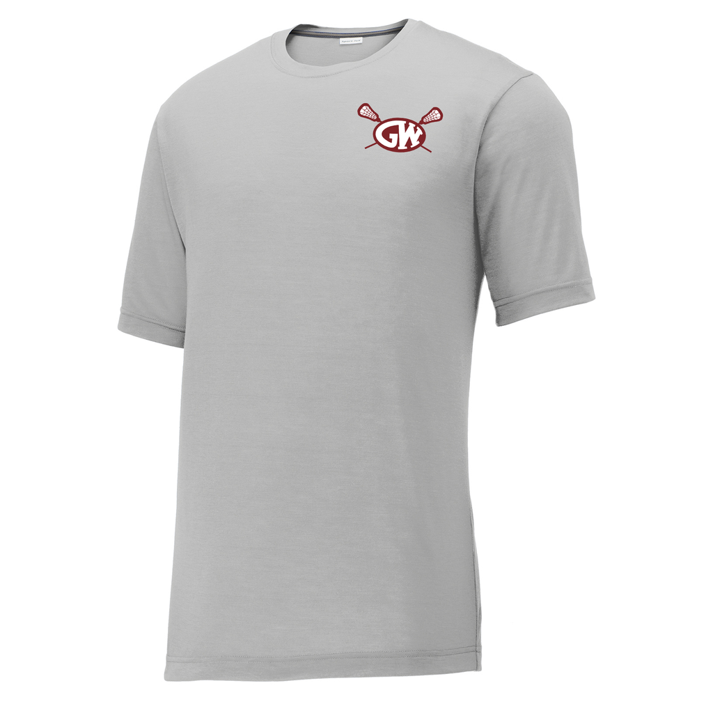 George Washington Lacrosse CottonTouch Performance T-Shirt