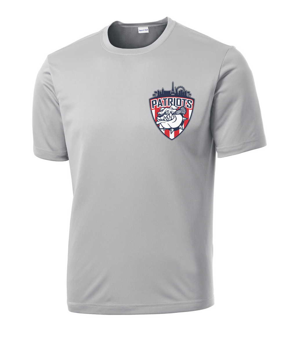 Las Vegas Patriots Grey Performance T-Shirt