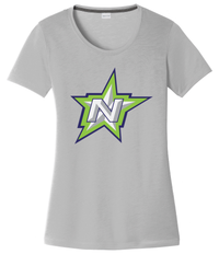 Northstar Baseball Women's Silver CottonTouch Performance T-Shirt