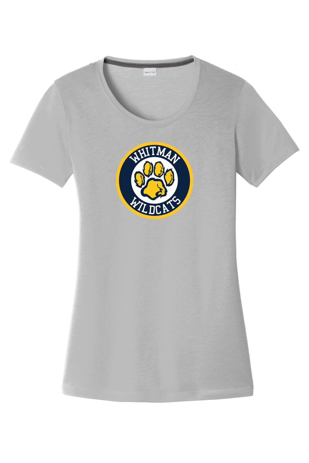 Whitman Wildcats Women's CottonTouch Performance T-Shirt