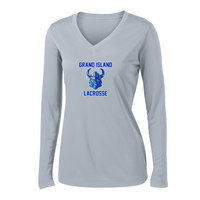 Grand Island Lacrosse Women's Long Sleeve Performance Shirt