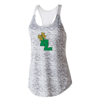 Lanierland Lions Cheer Women's Mesh-Back Tank