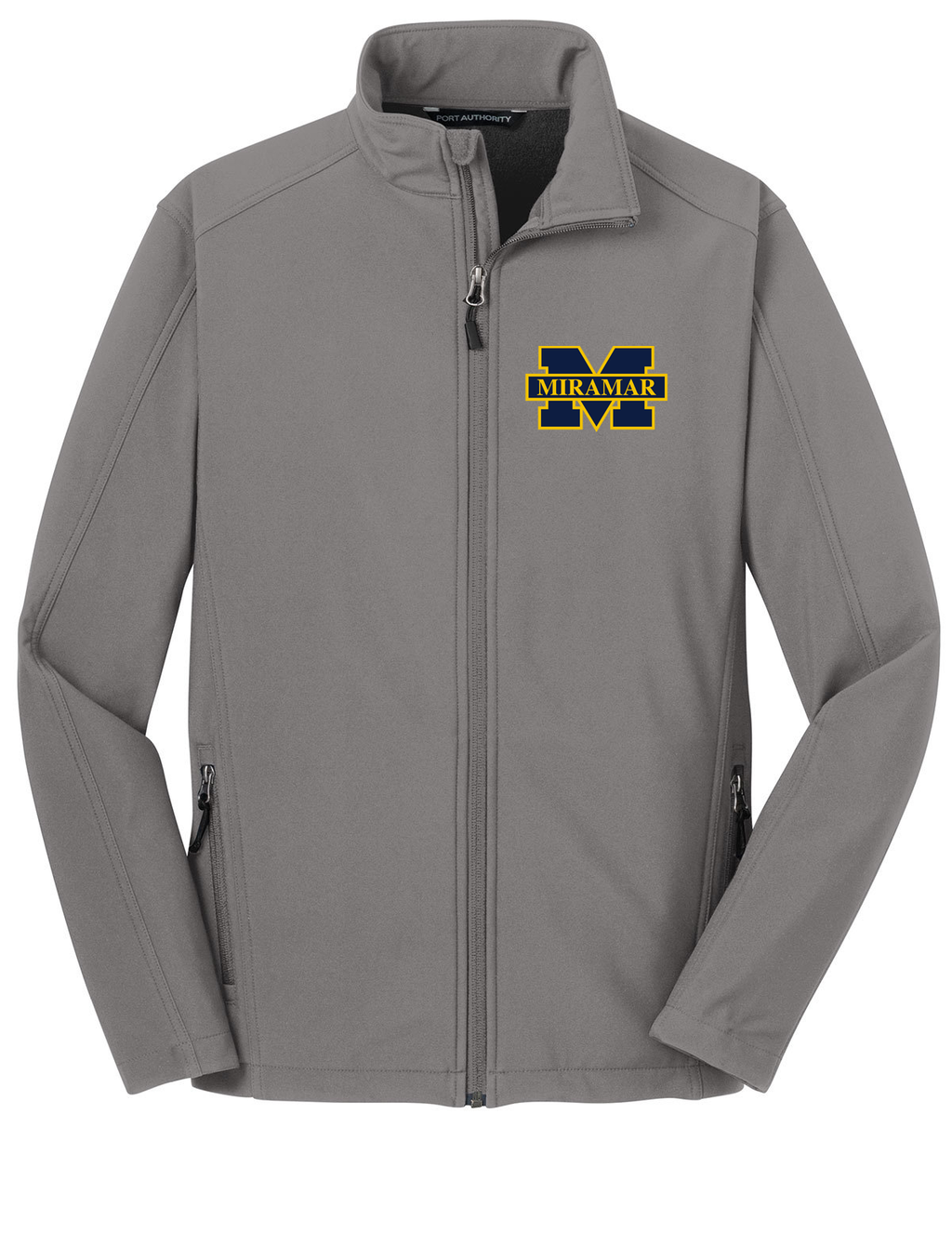 Miramar Wolverines Football Soft Shell Jacket