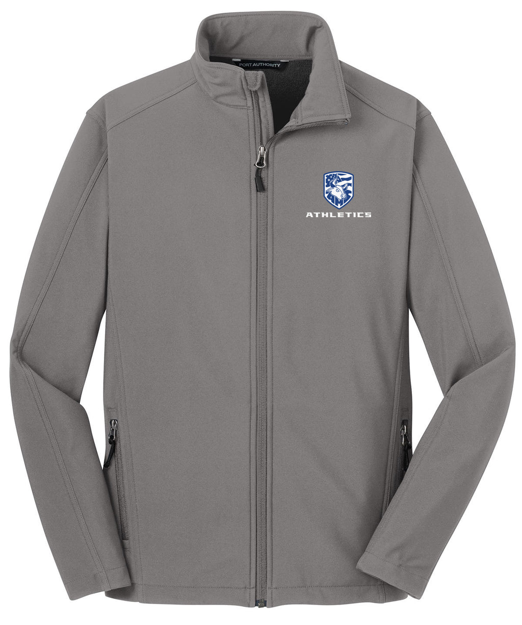 Accompsett Middle School Men's Smoke Silver Soft Shell Jacket