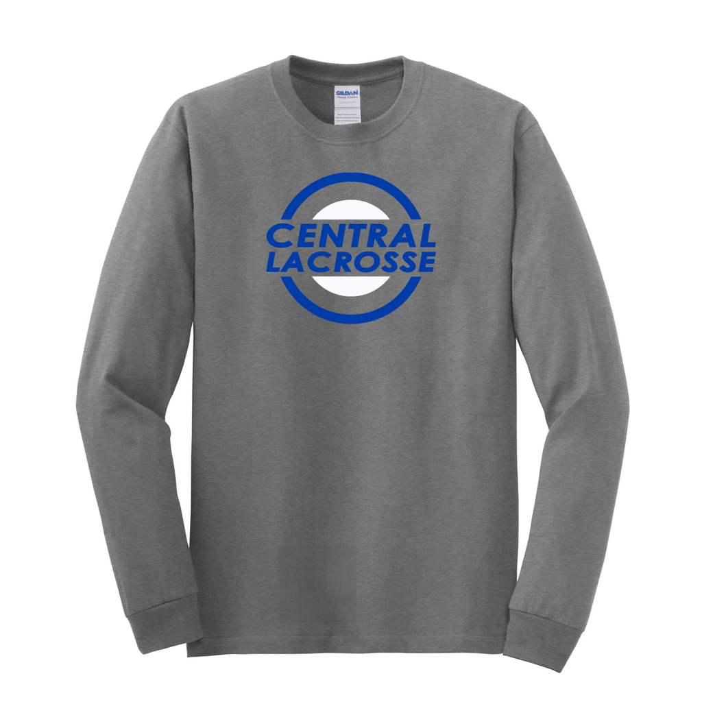 Central Girls Lacrosse Unisex Cotton Long Sleeve Shirt