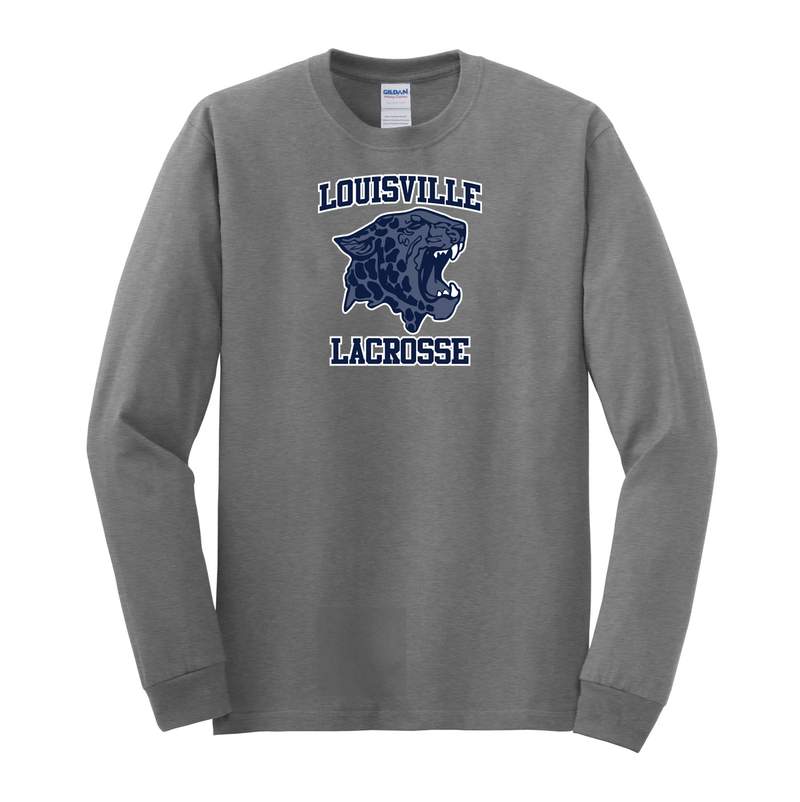Louisville High School Lacrosse Cotton Long Sleeve Shirt