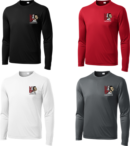 Syosset Lacrosse Long Sleeve Performance Shirt