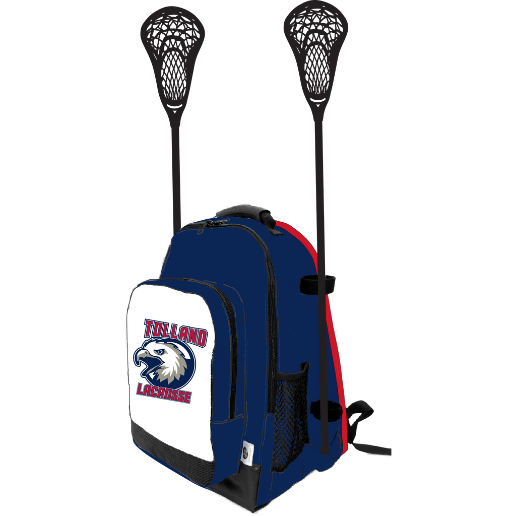 Tolland Lacrosse Side Lacrosse Stick Holder Small Backpack