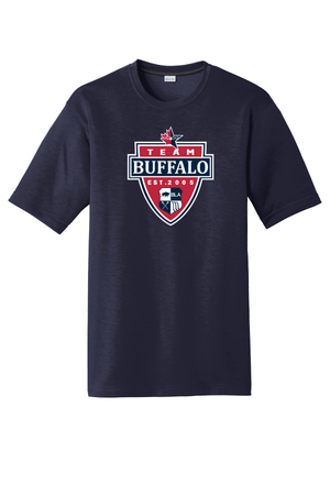 Team Buffalo Cotton Feel Performance T-Shirt