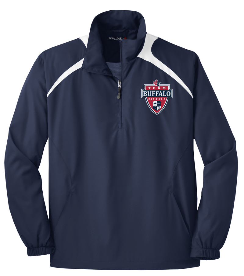Team Buffalo Quarterzip Windbreaker
