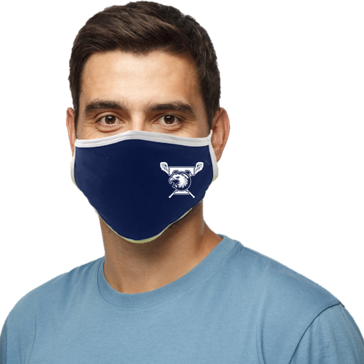 Tolland Lacrosse Blatant Defender Face Mask - Navy