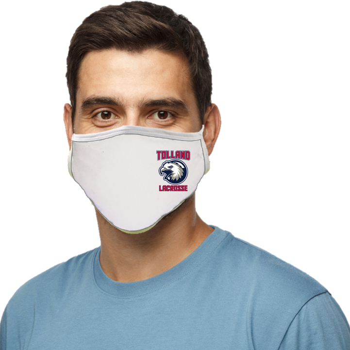 Tolland Lacrosse Blatant Defender Face Mask - White