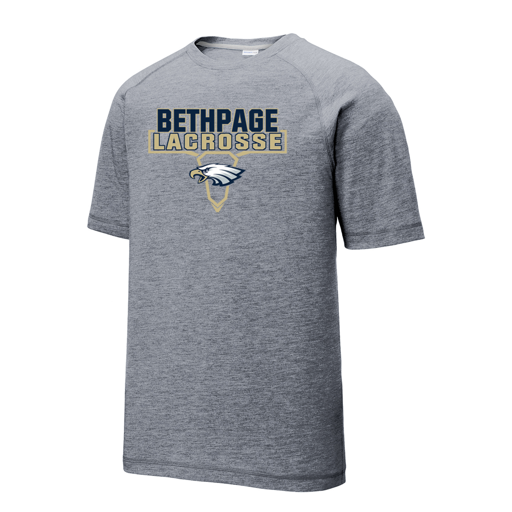 Bethpage HS Lacrosse Raglan CottonTouch Tee