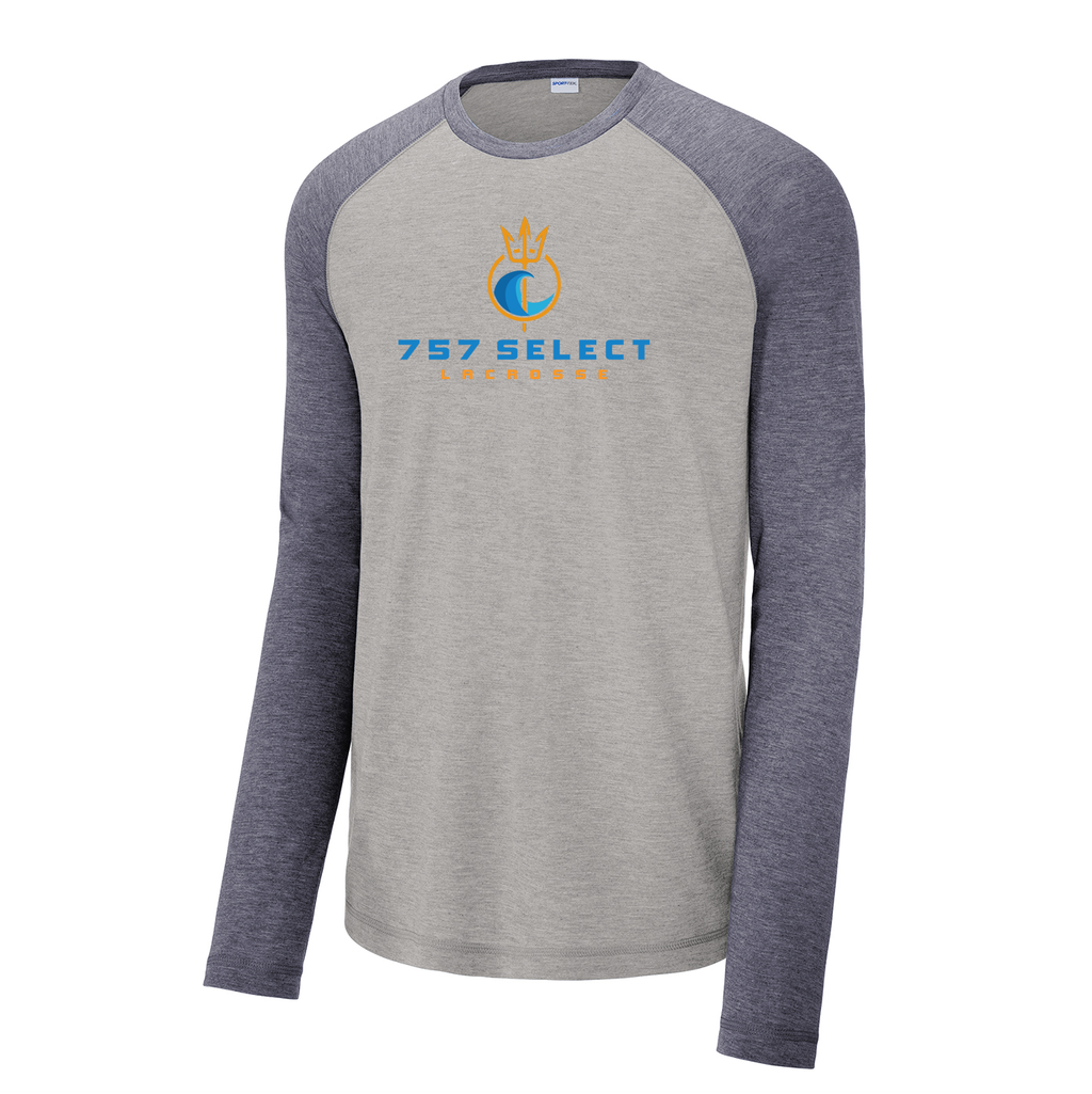 757 Lacrosse Long Sleeve Raglan CottonTouch