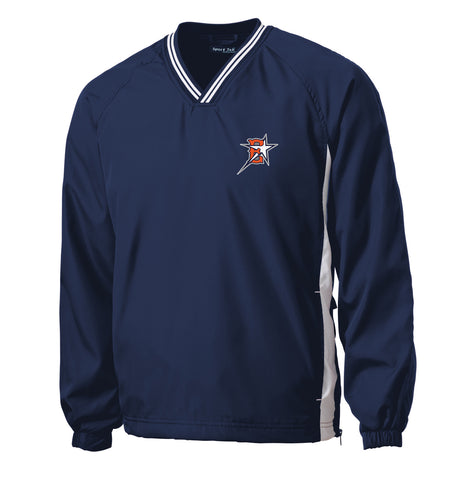 Eastvale Girl's Softball V-Neck Pullover