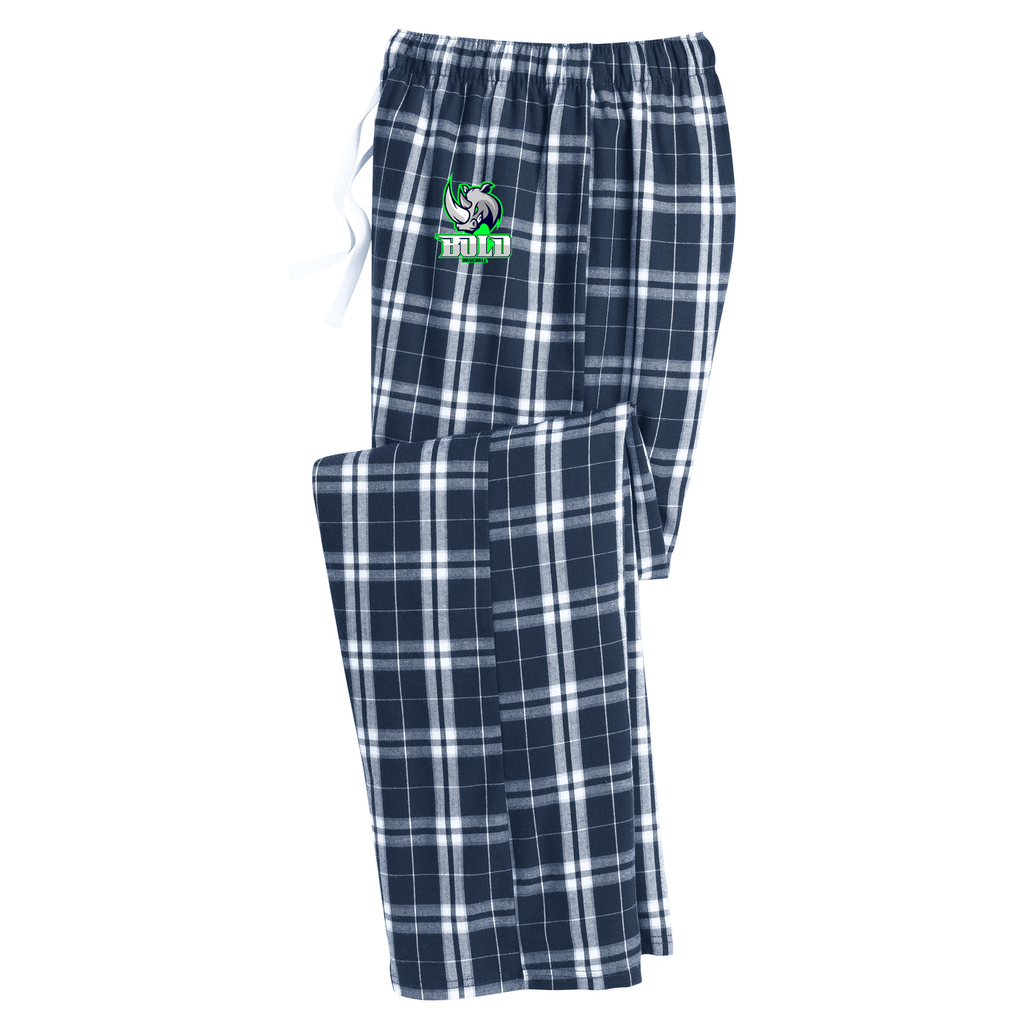 Bold Baseball Plaid Pajama Pants