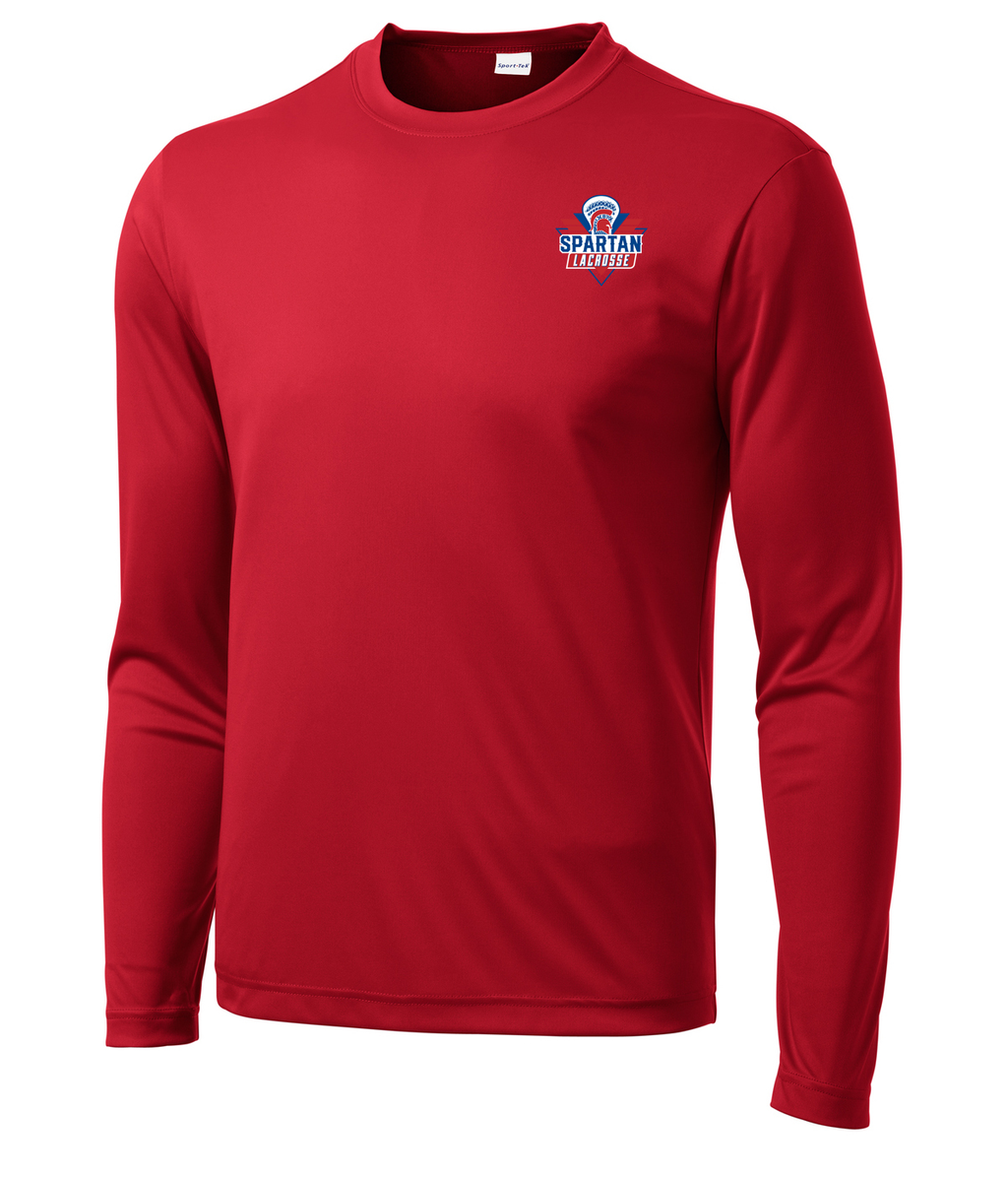 Bixby Youth Lacrosse Long Sleeve Performance Shirt
