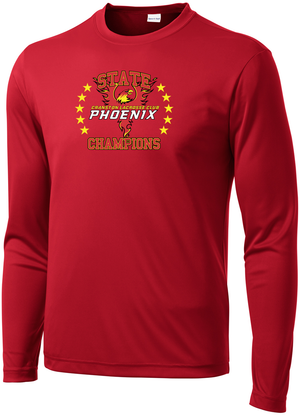Cranston Lacrosse State Champions Long Sleeve Performance Shirt