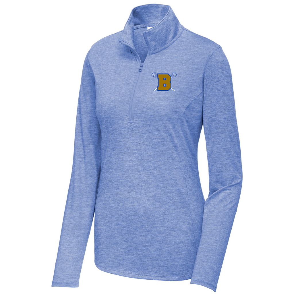 Brentwood Lady Lacrosse Women's Tri-Blend Quarter Zip