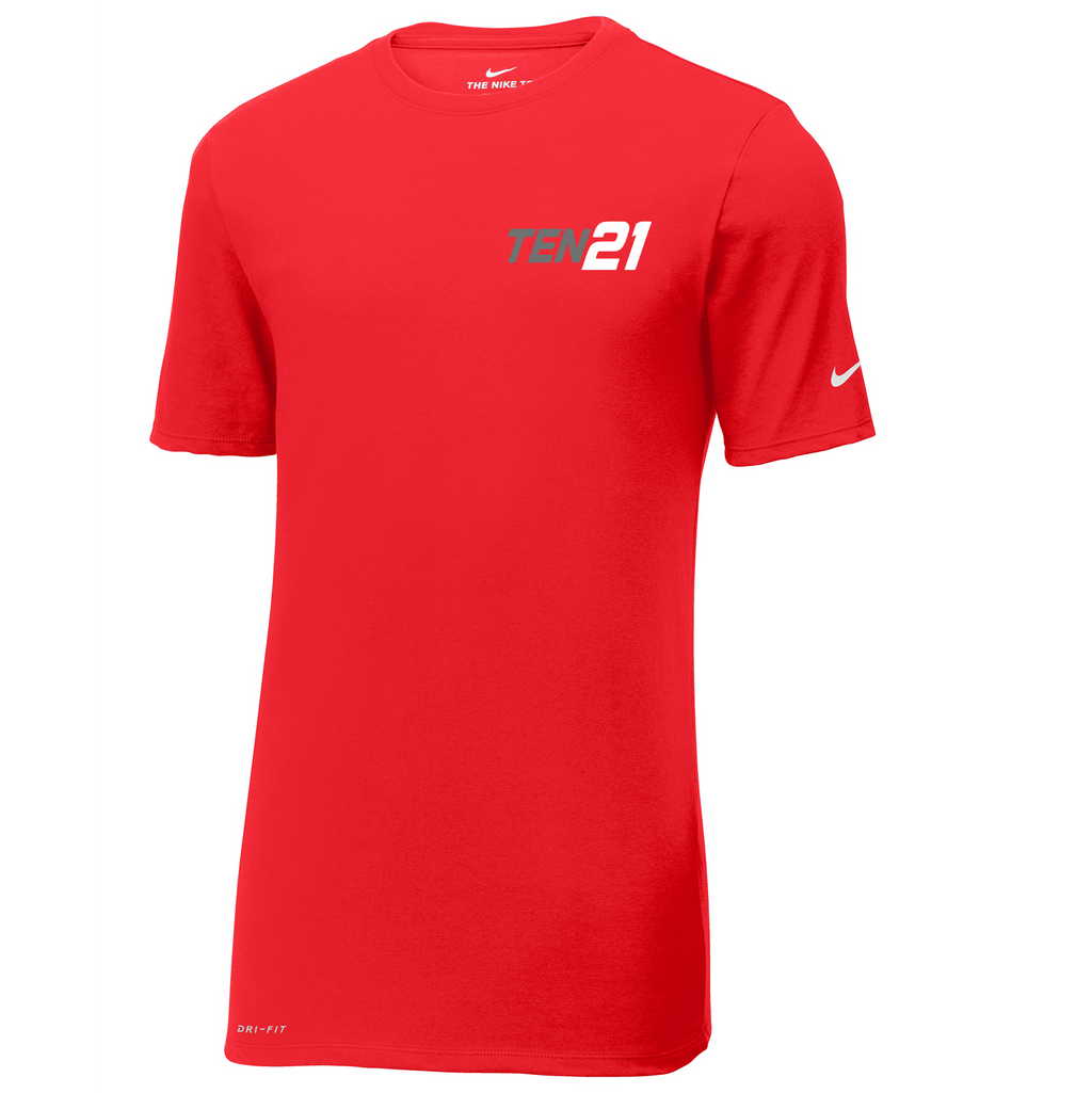 TEN21 Lacrosse Nike Dri-FIT Tee