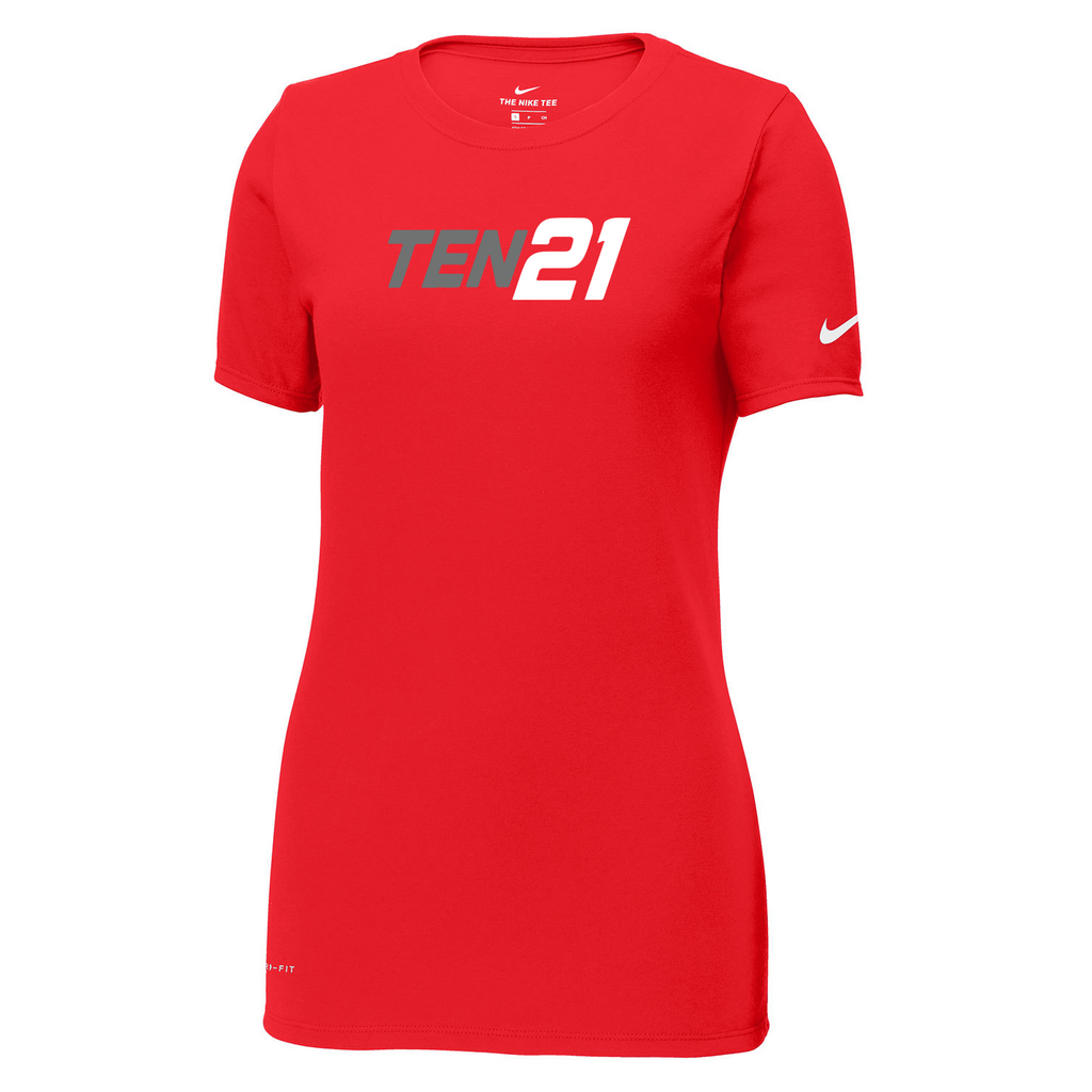 TEN21 Lacrosse Nike Ladies Dri-FIT Tee