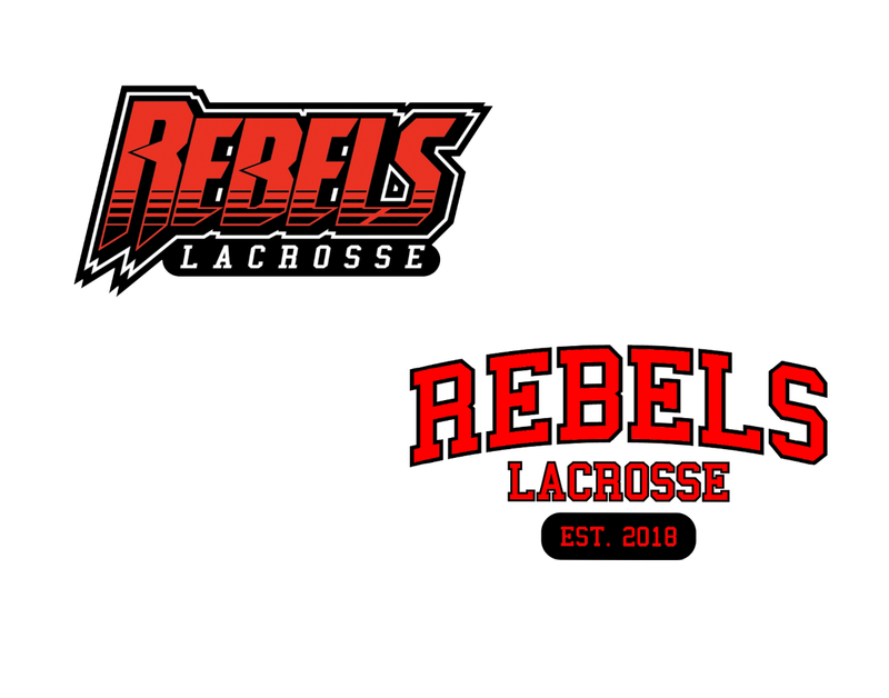 Rebels Lacrosse Sticker 2-Pack