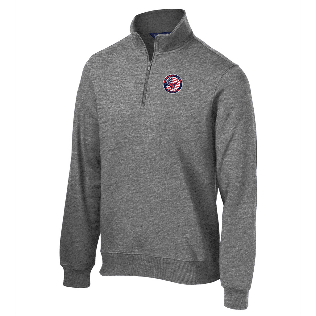 APA Lacrosse 1/4 Zip Fleece