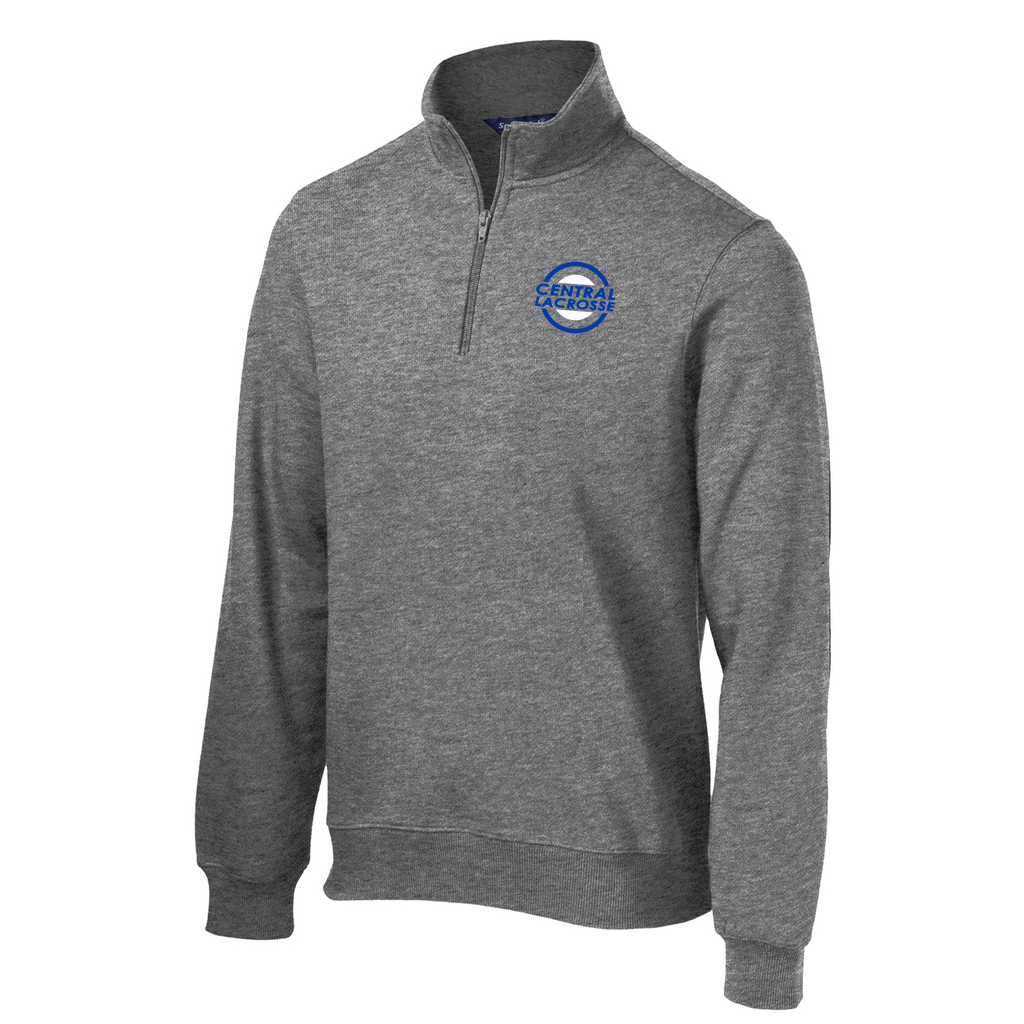 Central Girls Lacrosse Mens 1/4 Zip Fleece
