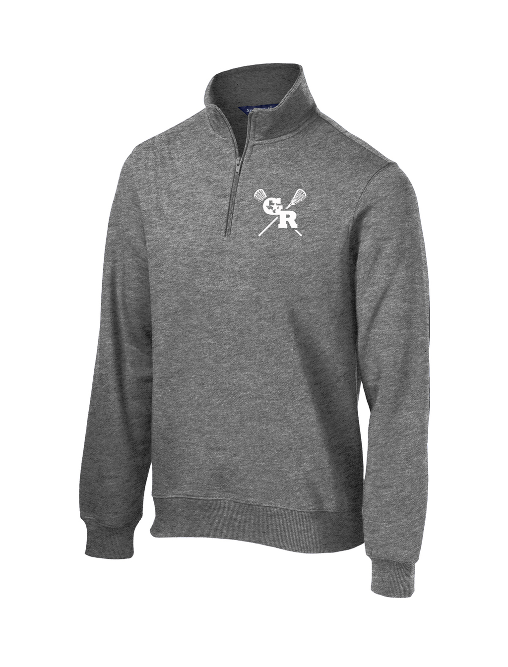 GR Longhorns Lacrosse 1/4 Zip Fleece