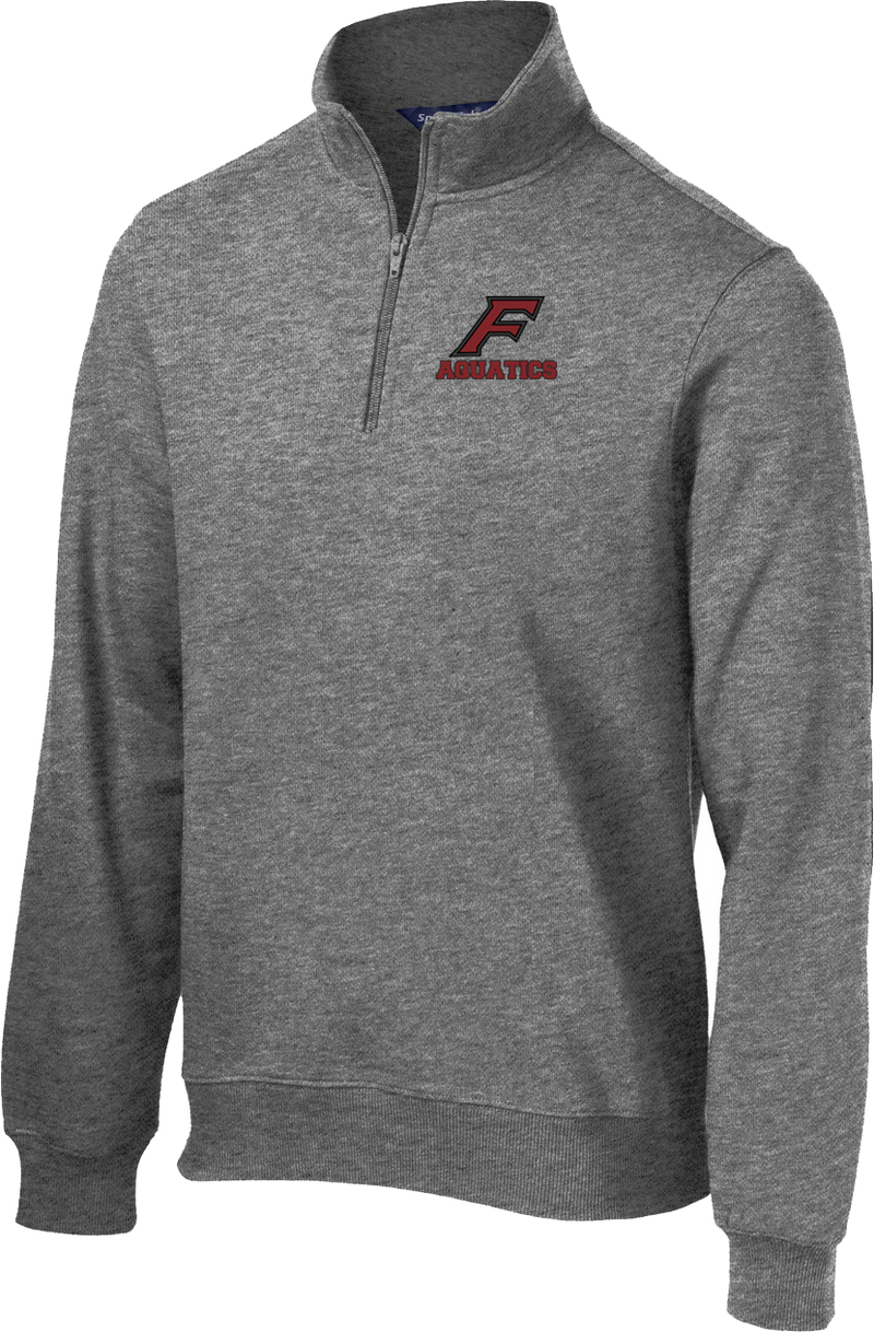 Farmington Aquatics Vintage Heather 1/4 Zip Fleece