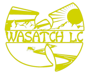 Wasatch LC Car Decal