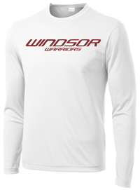 Windsor White Long Sleeve Performance Shirt