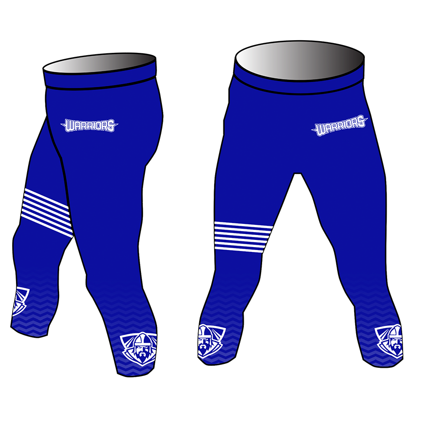 Westchester Warriors Boys 3/4 Compression Pants