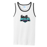 Austin Jazz Lacrosse Club Sleeveless Cotton Tank Top
