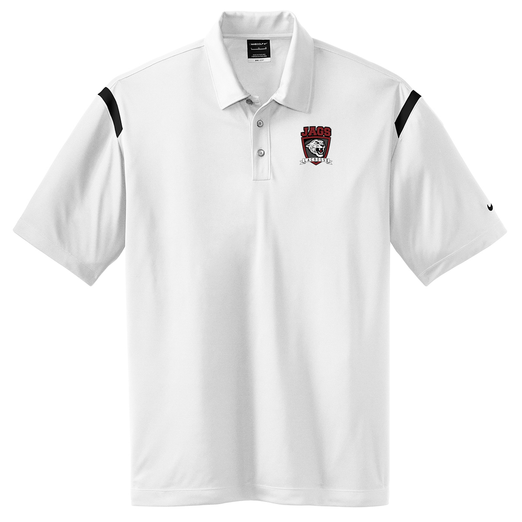 Jags Lacrosse  Nike Dri-FIT Stripe Polo
