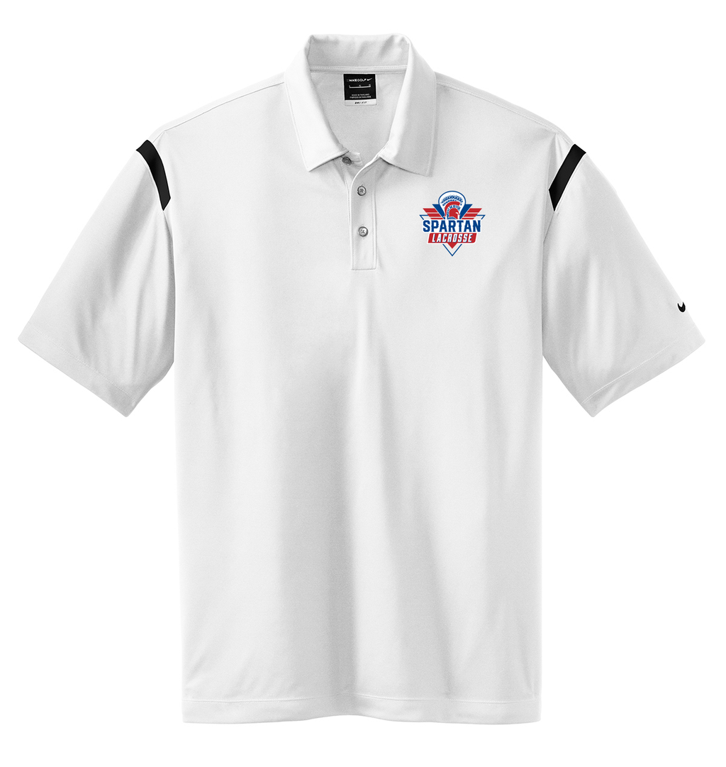 Bixby Youth Lacrosse Nike Dri-FIT Stripe Polo