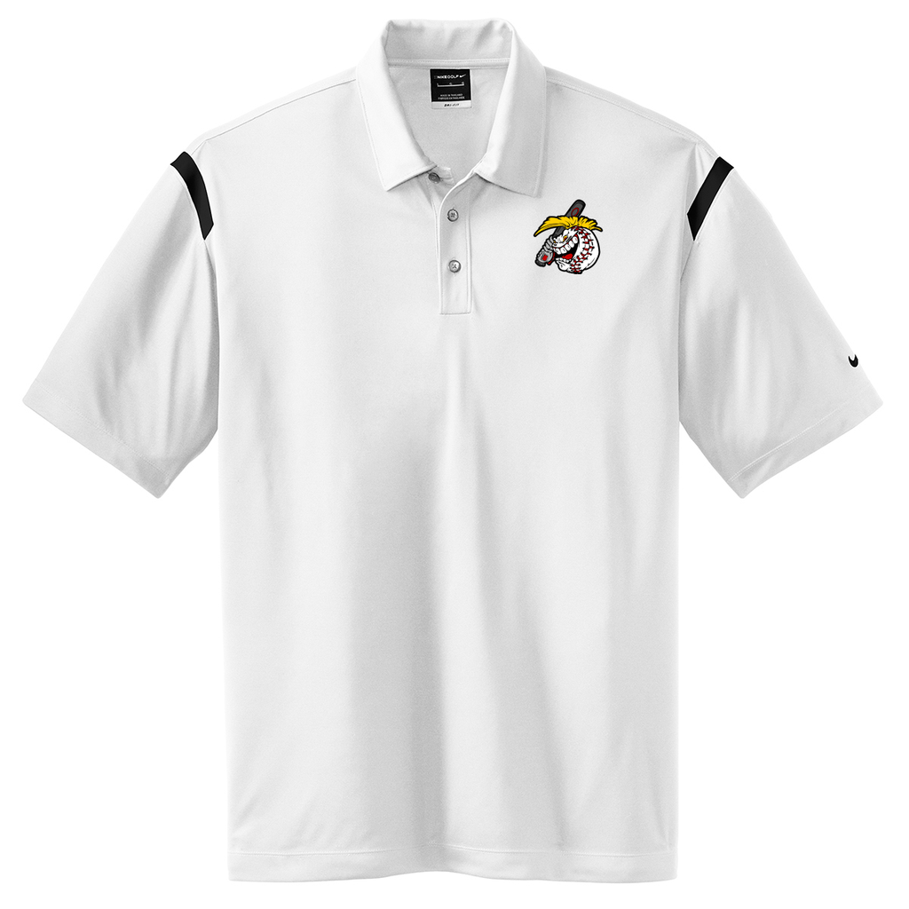 Carolina Slammers Nike Dri-FIT Stripe Polo